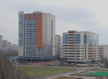 Nagatino i-land: Newton, фото здания