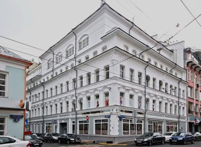 Чайка Плаза 8, фото здания