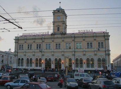 Ленинградский Вокзал, фото здания