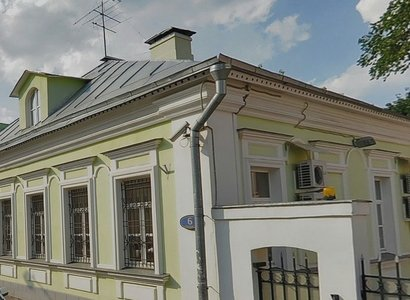 1-й Спасоналивковский пер, 6, фото здания