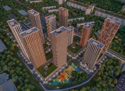 Level Амурская, фото здания