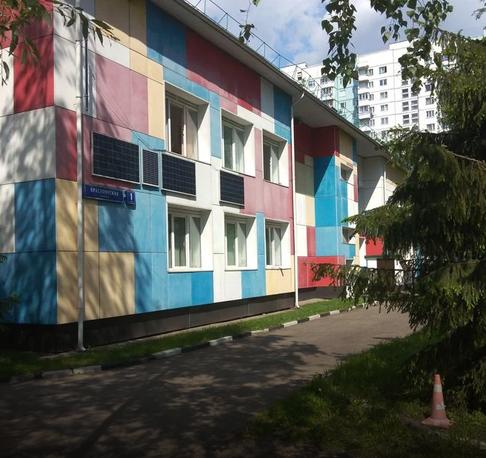 Красноярская улица, д.1к1