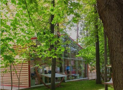 Нескучный сад, фото здания