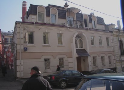 Звонарский пер, 4, фото здания