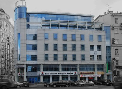 Бронная Плаза, фото здания